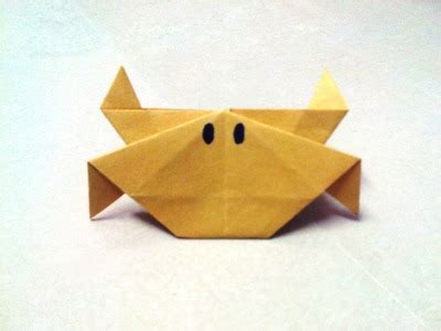How To Make Origami Crab - origami how to make a paper shuriken a paper
