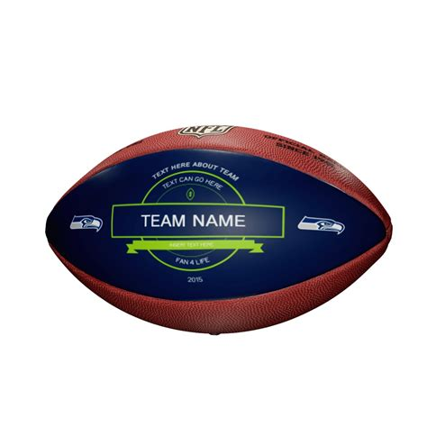seattle seahawks fan club quot the duke quot decal nfl football seattle seahawks wilson