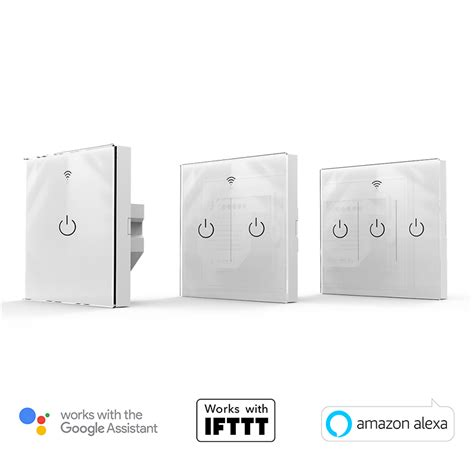 app controlled light switch wifiplug glass ios android compatible app controlled
