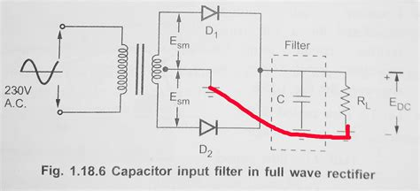 capacitor filter wave wave rectifier with capacitor filter electronicsxchanger queryxchanger