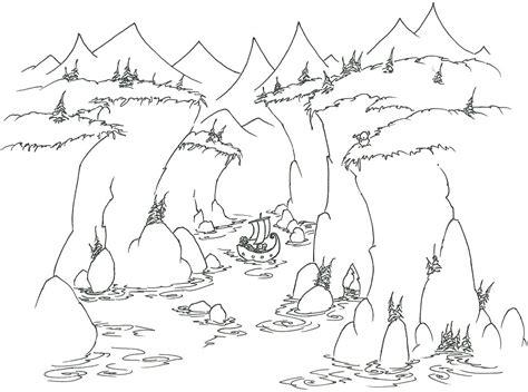 fjord drawing fjord coloring download fjord coloring