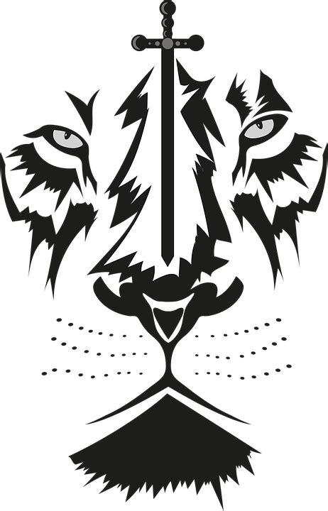 gambar lion sticker stiker dinding zazzle png kepala singa