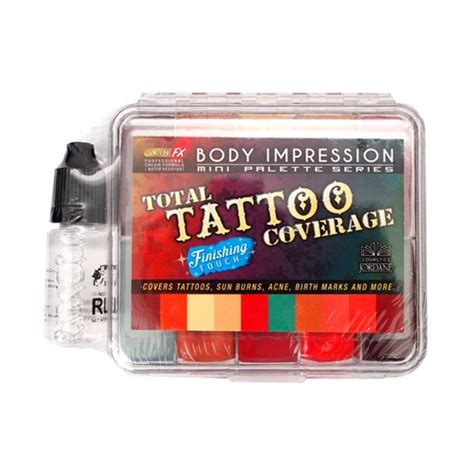 finishing touch tattoo nigel mini total cover palette finishing touch