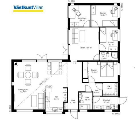 moderne bungalows grundrisse schwedenhaus eingeschossig skandihaus 148 grundriss haus