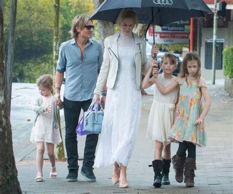 keith urban nicole kidman amp family spent easter in church
