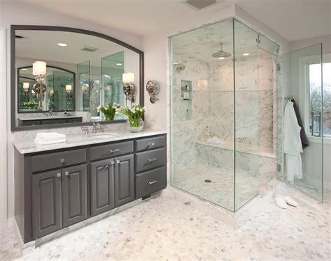 All Glass Shower Doors Enclosures Attractive Glass Shower Enclosures With Marble Tiles And Flooring Also Wooden Vanity Unit Unify