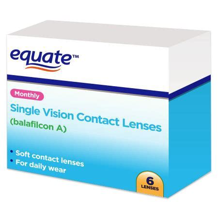most comfortable monthly contact lenses equate monthly distributed by walmart contacts