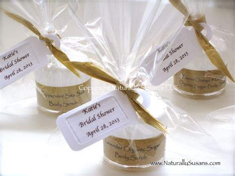 bridal shower favors spa favors naturally susan s parlour