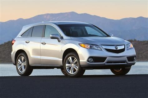2014 acura rdx new car review autotrader