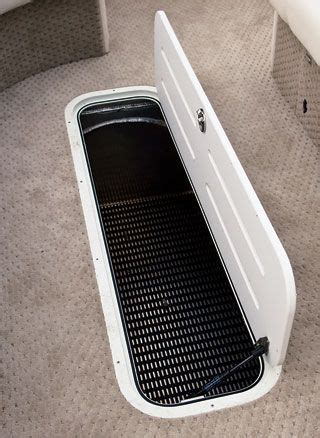 boat seat locker best 25 pontoon boat accessories ideas on pinterest