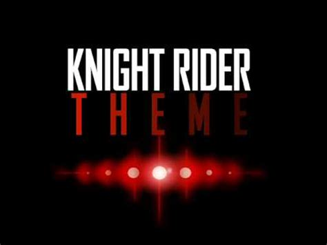 theme music knight rider knight rider theme tune youtube