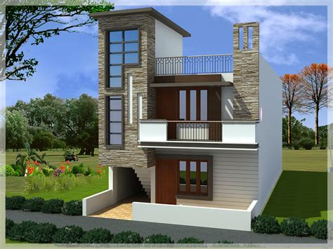 duplex house elevation designs duplex house design ghar planner home plans blueprints 80581