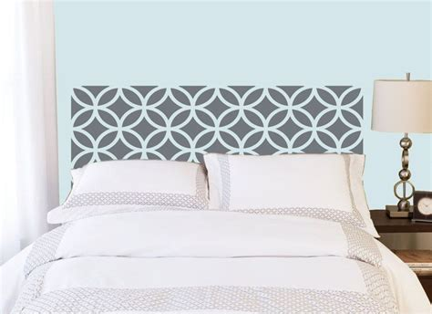 Wall Decal Headboards by Headboard Decal Vinyl Wall Sticker Decal Circles