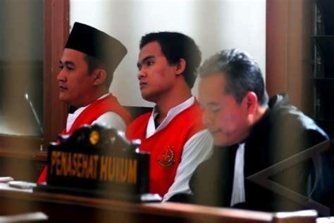 dua pembunuh sisca dituntut hukuman mati dan seumur hidup