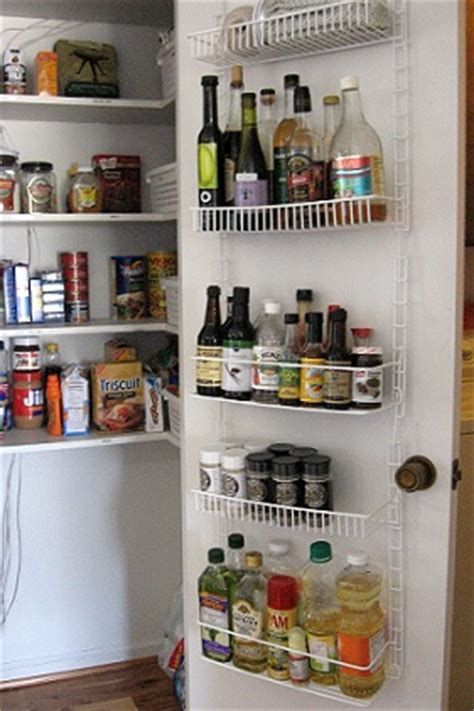Inside Pantry Door Storage by Kitchen Storage Hints Whats Cooking America