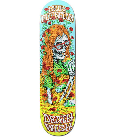 Deathwish Deck by Deathwish Ellington Buried Alive 8 125 Quot Skateboard Deck At