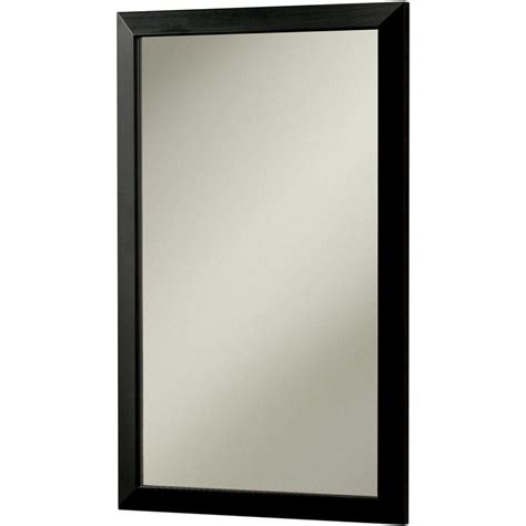 black recessed medicine cabinet city 16 5 in w x 26 5 in h x 5 25 in d recessed or