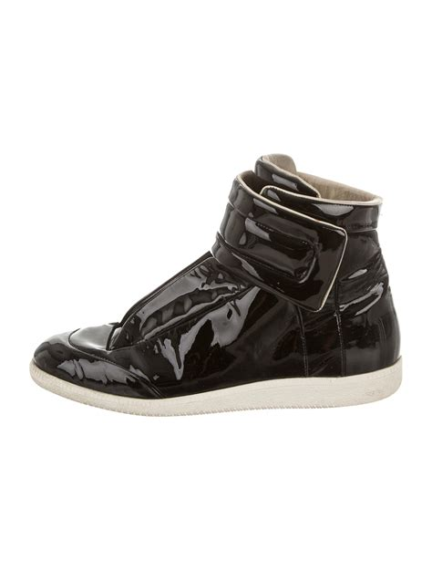 maison martin margiela sneakers maison martin margiela patent leather future sneakers