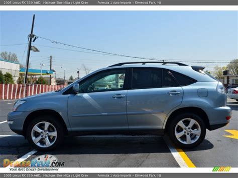 lexus light blue 2005 lexus rx 330 awd neptune blue mica light gray photo