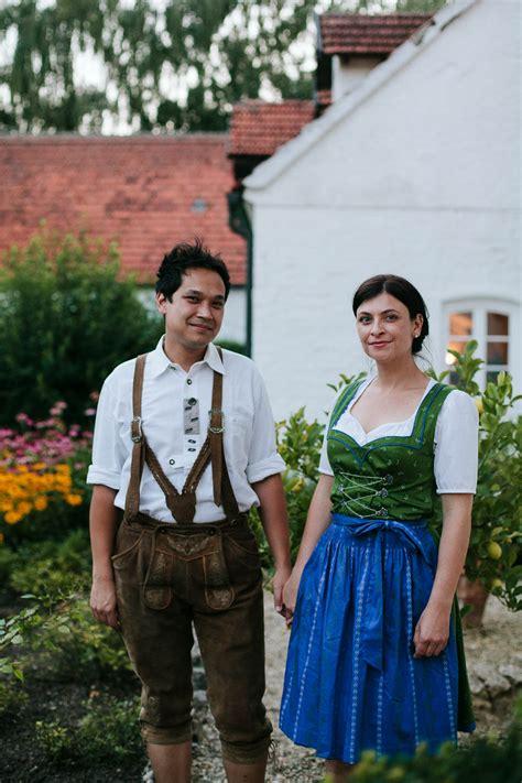 German Wedding Attire by German Countryside Wedding At Gut Sedlbrunn Junebug Weddings