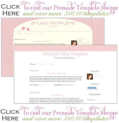 cute blog layout design premade blog templates premade blog template shoppe