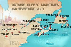 map canada east coast explore eastern canada moose travel eastern canada