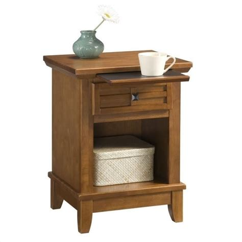 oak night stands bedroom night stand in cottage oak 5180 42