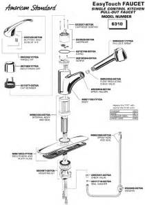 american standard kitchen faucet parts diagram american standard faucet parts faucets reviews