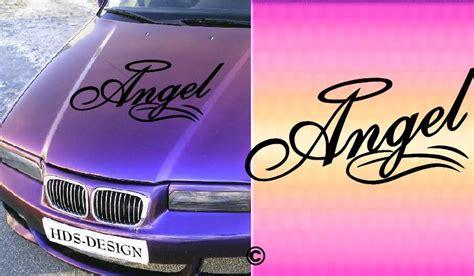 Autoaufkleber Selbst Gestalten Motorhaube by Fun Angel Girl Autoaufkleber M 228 Dchen Auto Aufkleber