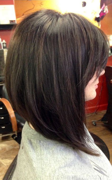 womans haircut back touches top of shoulders front is longer 25 best ideas about medium inverted bob on pinterest