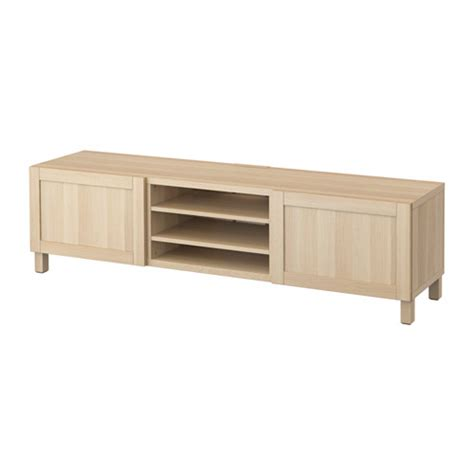 besta tv bench with drawers best 197 tv bench with drawers hanviken white stained oak