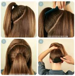 back to school hairstyle the two simple ponytail