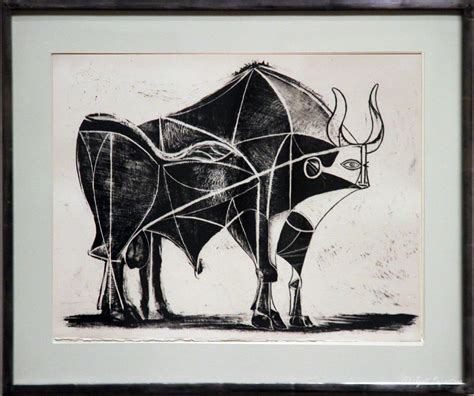 picasso paintings bull the bull by pablo picasso