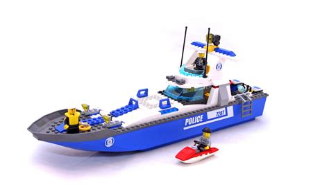 lego boat pieces for sale police boat lego set 7287 1 building sets gt city