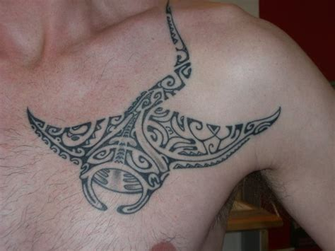 manta ray tattoo polynesian tatoo ideas