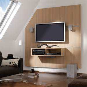 cinewall tv wall furniture with media box 2