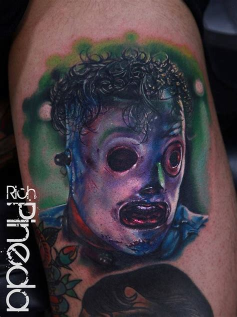 corey taylor tattoos corey slipknot mask