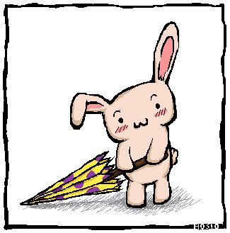 Lil Bunny 02 Size M bunny and his umbrella by hosio on deviantart