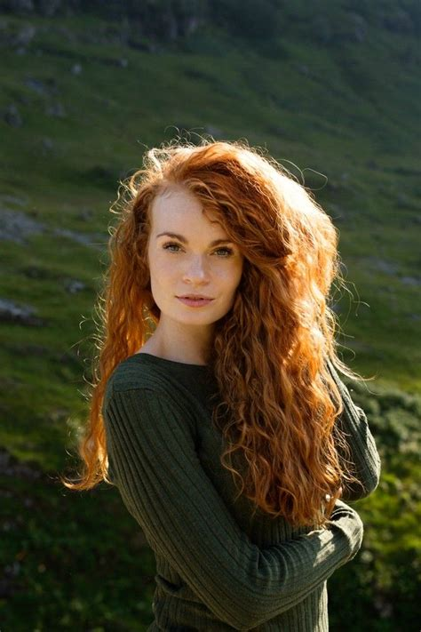 average hair color of scottish took a road trip to the scottish highlands so naturally