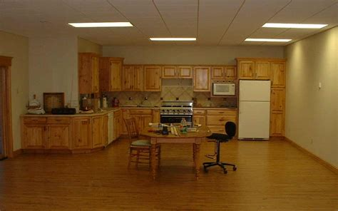 Basement Kitchen Ideas Basement Lighting For Lively Space