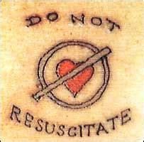 do not resuscitate tattoo news health pensioner s do not resuscitate