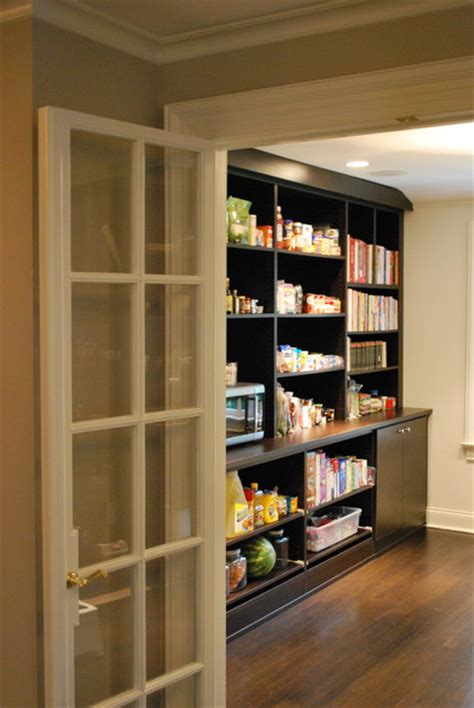 contemporary kitchen pantry walk in pantry contemporary kitchen boston by