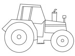 simple tractor coloring pages tractor outline drawing