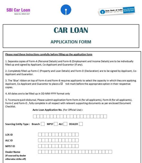 sbi housing loan sbi housing loan documents required 28 images car loan