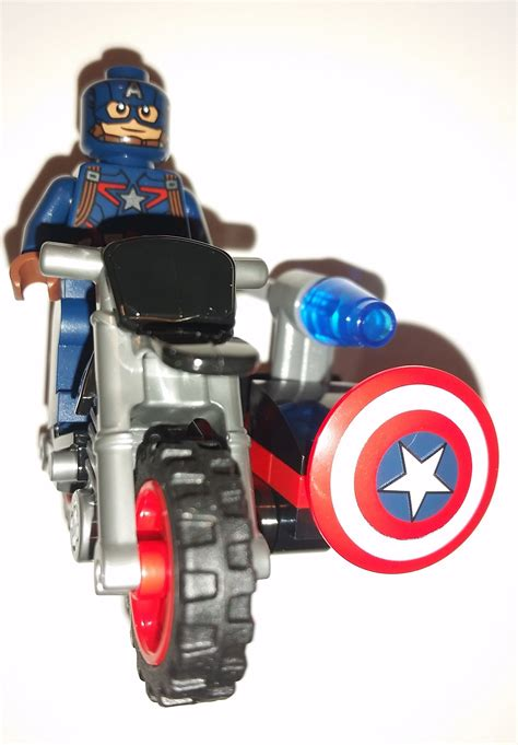 Lego Heroes 30447 Minifigure Captain America Motorcycle S lego captain america ebay gallery