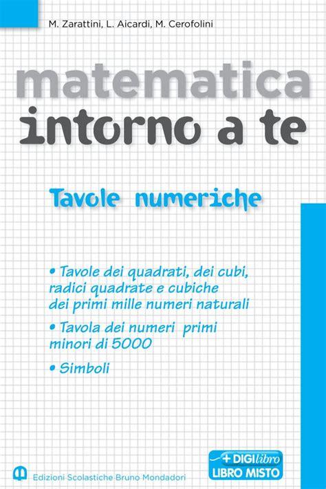 tavola numerica scuolabook ebook per la scuola manuela zarattini