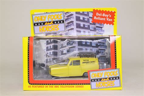 an excellent invention series 1 vanguards reliant 1 43 only fools horses tv series