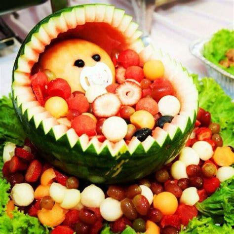 Baby Shower Fruit Basket Ideas by Watermelon Fruit Basket Baby Shower Www Pixshark