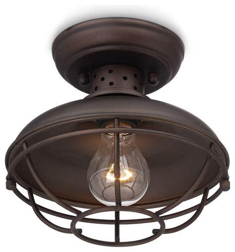 Franklin Park Vintage Metal Cage 8 1 2 Quot Wide Ceiling Light Cottage Ceiling Lights