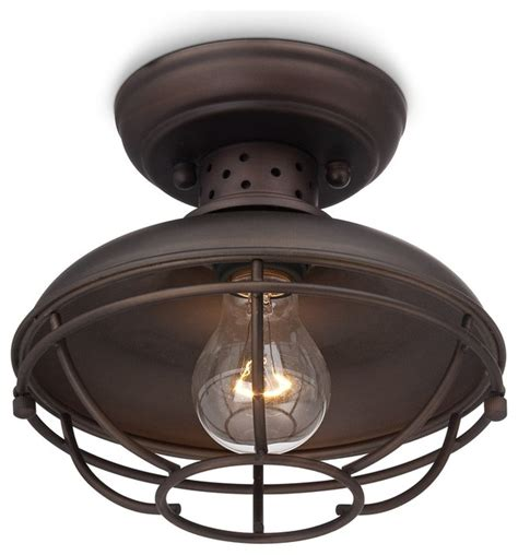 farmhouse ceiling lights franklin park vintage metal cage 8 1 2 quot wide ceiling light